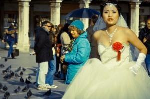 Sposa in piazza S.Marco - Venezia